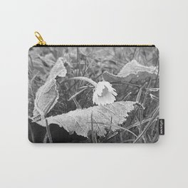 Flora Series - a frosty morning - Carry-All Pouch