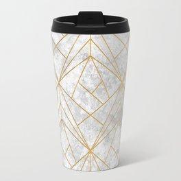 Retro over Stone II Travel Mug