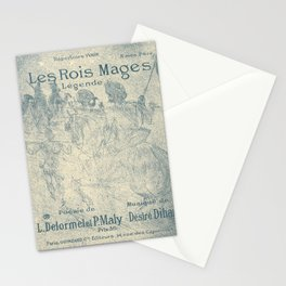 Les Rois Mages Stationery Cards