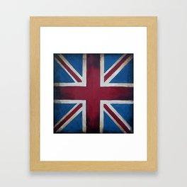 Union Jack Antique Framed Art Print