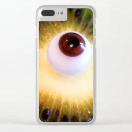eyekiwi Clear iPhone Case
