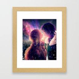 Jerza - Snowflakes Framed Art Print