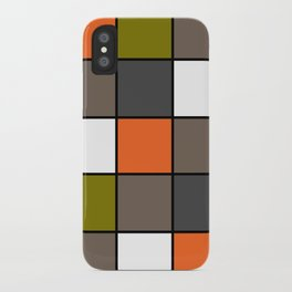 #Colorful #squares iPhone Case