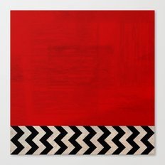 Twin Peaks - Red Room Canvas Print