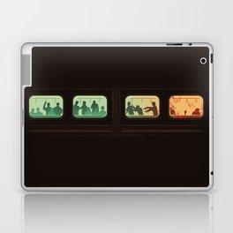 Ground Zero - Zombie Subway Laptop & iPad Skin