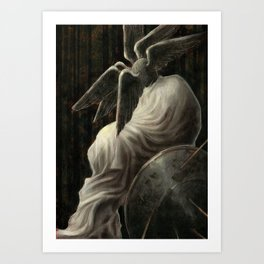 King Night Art Print