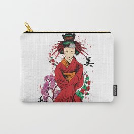 Geisha Japanese oriental art Carry-All Pouch