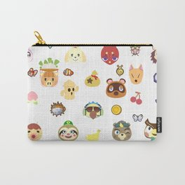 animal crossing pattern Carry-All Pouch