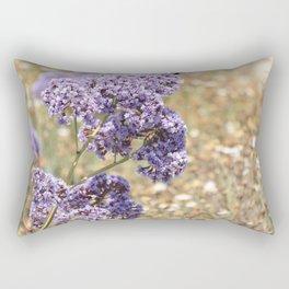 Seafoam Statice Rectangular Pillow