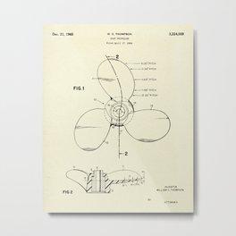 Boat Propeller-1965 Metal Print