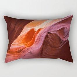 The Waves of Antelope Canyon Rectangular Pillow