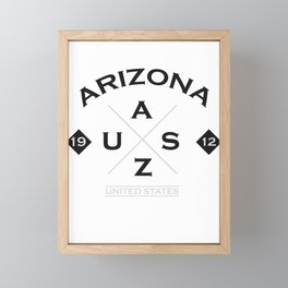 Arizona USA America Framed Mini Art Print