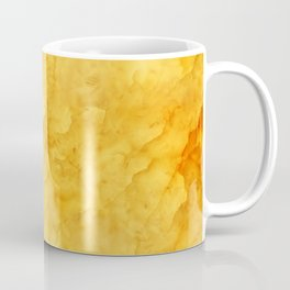 Golden amber texture Coffee Mug