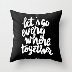 Everywhere Throw Pillow