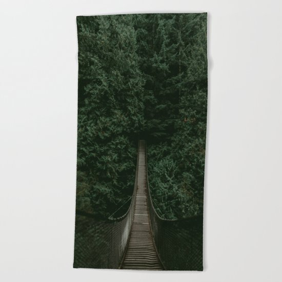 Into the Wilderness Beach Towel