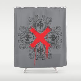 Royal Blood Shower Curtain