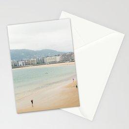 La Concha Beach, San Sebastian - Donostia-San, Spain Stationery Cards