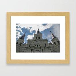 Piercing the Heavens Framed Art Print