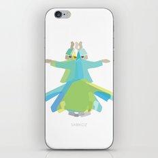 Mevlana - Whirling Dervish iPhone & iPod Skin