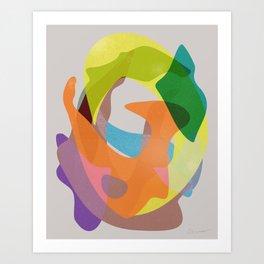 O Waves Art Print
