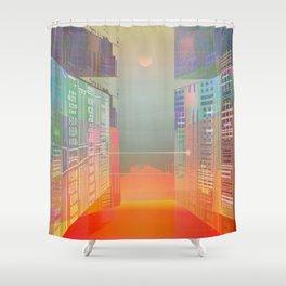 Open Gates / Spatial sluices / Entrance to summer Shower Curtain