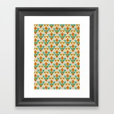 Retrospect, Triangle Nonet, No. 03 Framed Art Print