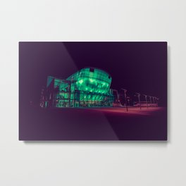 Festspielhaus / Bladerunner Vibes / Austria Metal Print