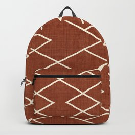 Cliff in Rust Backpack