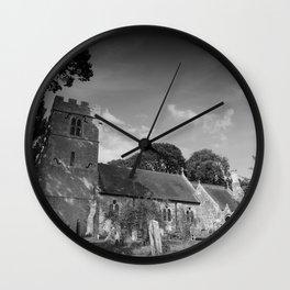 Old English Church Wall Clock