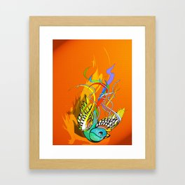Julius (day version) Framed Art Print