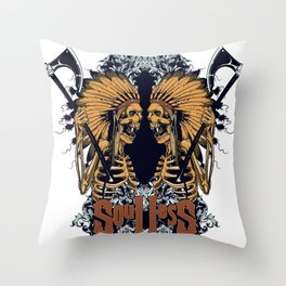Soulless reflection Throw Pillow