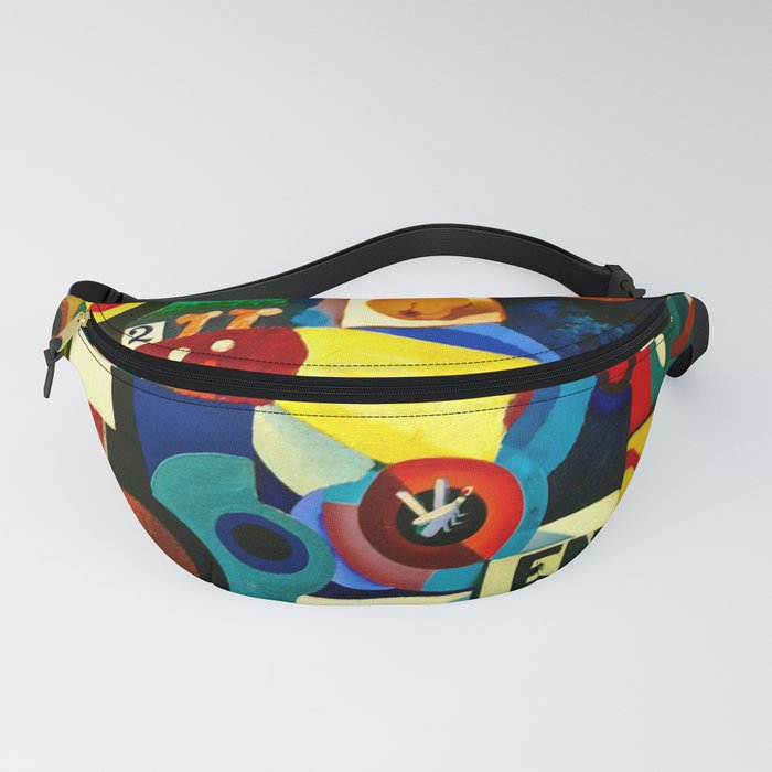 Entrada by Amadeo de Souza Cardoso - Portuguese Colorful Expressionism Fanny Pack