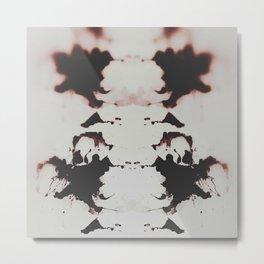 sangue su sangue/ Blood over Blood  Metal Print