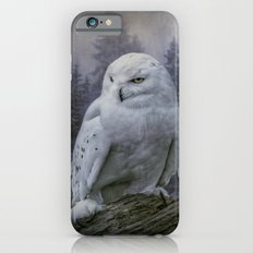 Snowy Owl looking for prey Slim Case iPhone 6s