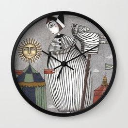A Circus Story Wall Clock