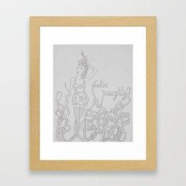 Feeling Naughty..? Framed Art Print