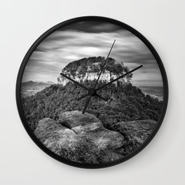 Pilot Mountain 1 Wall Clock