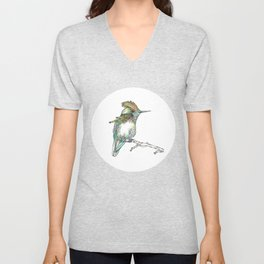 The Tufted Coquette Unisex V-Neck