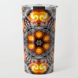 Metal & Flame Mandala Travel Mug