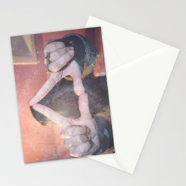 hipster triangel Stationery Cards