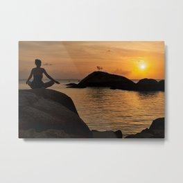 Ko Phangan Sunset Metal Print