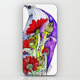 Flowers Two iPhone Skin