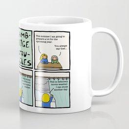 Cambridge struggles: Weather Coffee Mug