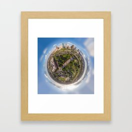 Houston is out of this world! Framed Art Print
