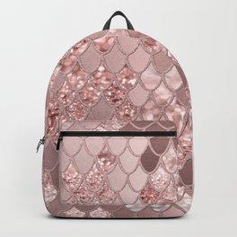 Mermaid Glitter Scales #8 (Faux Glitter) #shiny #decor #art #society6 Backpack