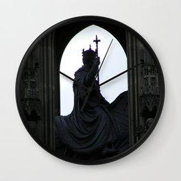 Prague V Wall Clock