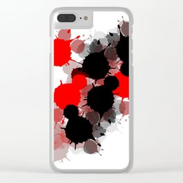 Ink 2 Clear iPhone Case