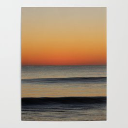 Waves in your Horizon Poster