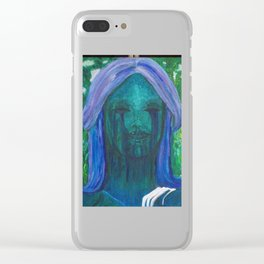 Haserot Angel Clear iPhone Case