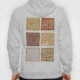 African Ceremonial Pattern Hoody